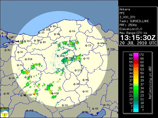 Ankara Radarı 20 Temmuz