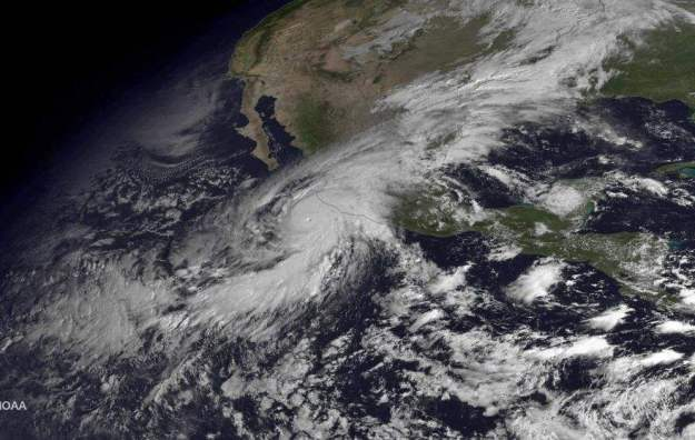 Hurricane Patricia weather graphic